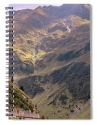 Drive In The Mountains Spiral Notebook
