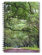 Driveway To The Past Spiral Notebook