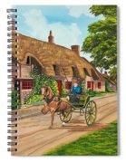 Driving A Jaunting Cart Spiral Notebook