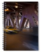 Driving Fast Spiral Notebook