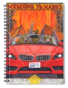 Driving Like Bats Out Of Hell Spiral Notebook