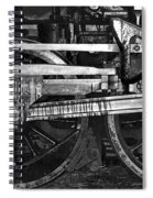 Driving Wheels Spiral Notebook