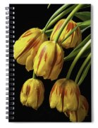 Drooping Tulips Spiral Notebook