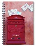 Drop Me A Letter Mr. Postman Spiral Notebook