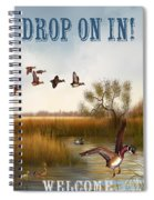 Drop On In-jp2780 Spiral Notebook