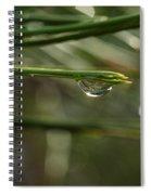 Droplet Spiral Notebook