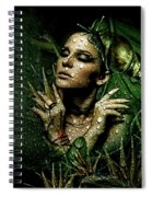 Drops Of Dew Spiral Notebook