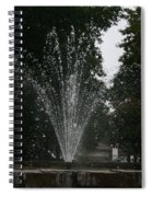 Drops Of Fountain Spiral Notebook