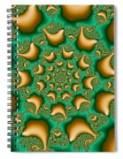 Drops Of Gold Spiral Notebook