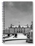 Drottningholm Castle Winter Spiral Notebook