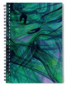 Drowning Spiral Notebook