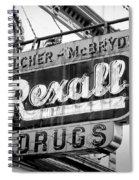 Drug Store #2 Spiral Notebook