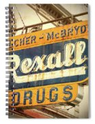 Drug Store #3 Spiral Notebook