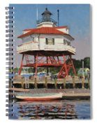 Drum Point Lighthouse Spiral Notebook