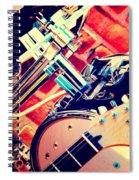 Drum Set Spiral Notebook