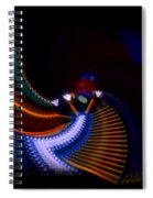 Drummer Dance Spiral Notebook
