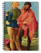Drummers And Pipers Spiral Notebook