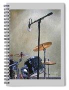 Drummers Joy Spiral Notebook