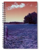 Dry Lake Infrared Spiral Notebook