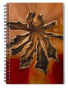 Dry Leaf Collection Digital 1 Spiral Notebook