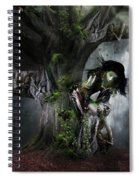 Dryad's Dance Spiral Notebook