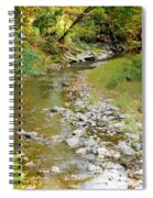 Drying Up River 3 Spiral Notebook