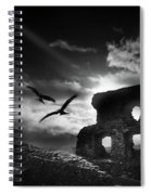 Dryslwyn Castle 3b Spiral Notebook