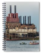 Dte Power Plant  Spiral Notebook