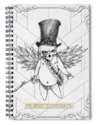 Du Hast Vergessen Spiral Notebook