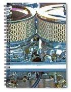 Dual Carbs Spiral Notebook