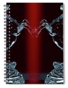 Dual Of Stallions Spiral Notebook