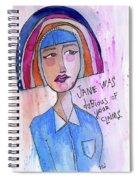 Dubious Jane Spiral Notebook
