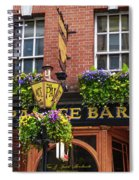 Dublin Ireland - Palace Bar Spiral Notebook