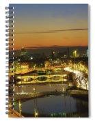 Dublin,co Dublin,irelandview Of The Spiral Notebook