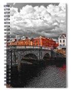 Dublin's Fairytales Around Grattan Bridge 2 V3 Spiral Notebook