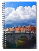 Dublin's Fairytales Around Grattan Bridge V2 Spiral Notebook