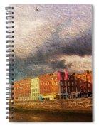 Dublin's Fairytales Around  River Liffey 2 Spiral Notebook