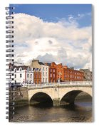 Dublin's Fairytales Around  River Liffey 3 Spiral Notebook