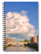 Dublin's Fairytales Around  River Liffey Spiral Notebook