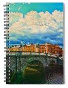 Dublin's Fairytales Around  River Liffey V4 Spiral Notebook