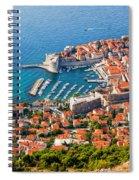 Dubrovnik From Above Spiral Notebook