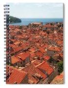 Dubrovnik Old Town Spiral Notebook