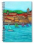 Dubrovnik Regatta Spiral Notebook