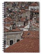 Dubrovnik Rooftops #3 Spiral Notebook