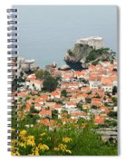 Dubrovnik, The Walled Old City Spiral Notebook