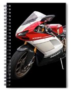 Ducati 1098s Motorcycle Spiral Notebook