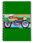 Ducati 750 Ss Corsa Spiral Notebook