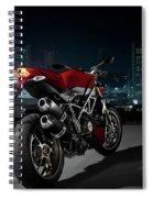 Ducati By Moonlight Spiral Notebook