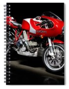 Ducati Mhe Mike Hailwood Evoluzione Spiral Notebook