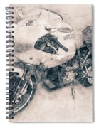 Ducati Paulsmart 1000 Le - 2006 - Motorcycle Poster - Automotive Art Spiral Notebook
